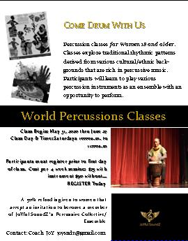 World Percussions Flyer 35St